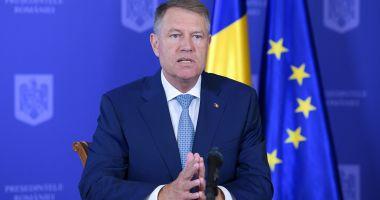 Președintele Klaus Iohannis participă, luni, la Summitul NATO, la Bruxelles