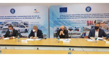 RAJA modernizează și dezvoltă reţelele de apă din Agigea şi Eforie, cu fonduri europene
