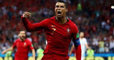 Cristiano Ronaldo a depăşit bariera de 100 de goluri pentru Portugalia