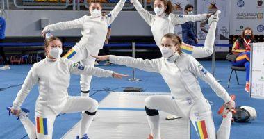 Scrimă / Locul 14 pentru echipa feminină de spadă juniori a României, la CM de la Cairo