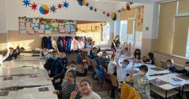 Spiriduşii toamnei, la Şcoala nr. 16 Constanţa