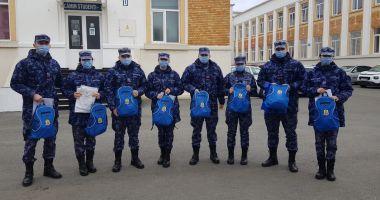 Studenţii militari au plecat în Polonia