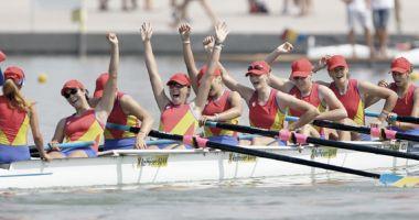 Trei echipaje românești, în finalele Cupei Mondiale de canotaj