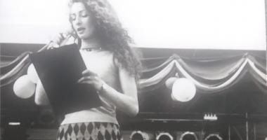 Arhiva de Aur Cuget Liber. Diva din Monaco, la Serbările Tomitane, în 1998