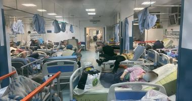 Imagine de groază din Spitalul Judeţean Constanţa. zeci de pacienţi cu COVID, în stare gravă