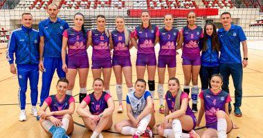 Voleibalistele de la CS Medgidia au pierdut meciul cu Dinamo