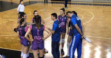 Voleibalistele de la CS Medgidia, învinse la limită de CSU Cluj