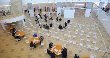 Se caută registratori pentru centrul de vaccinare de la Pavilionul Expoziţional