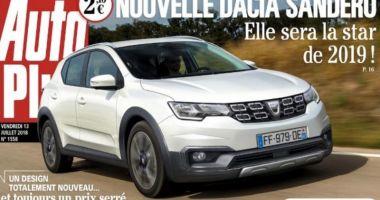 Prima imagine cu noua Dacia Sandero, publicată de presa franceză