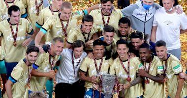 Zenit Sankt Petersburg a câștigat Cupa Rusiei